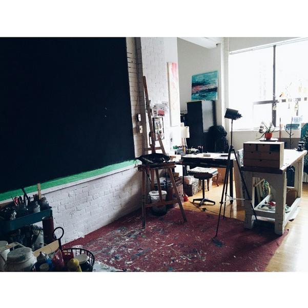 Clean studio!